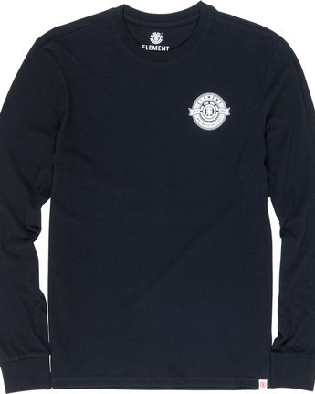 5 Medallian - Long Sleeve T-Shirt Black Q1LSA5ELF9 Element