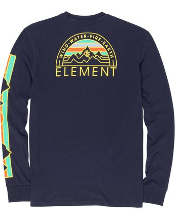5 Odyssey - Long Sleeve T-Shirt Blue Q1LSA9ELF9 Element
