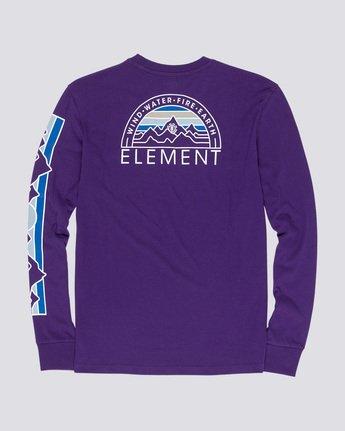 4 Odyssey - Long Sleeve T-Shirt Purple Q1LSA9ELF9 Element