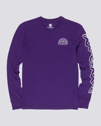 3 Odyssey - Long Sleeve T-Shirt Purple Q1LSA9ELF9 Element