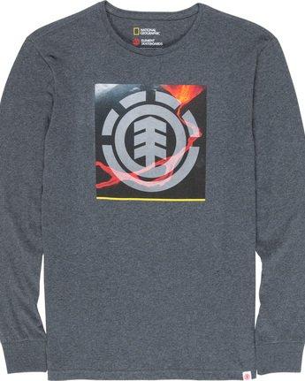 4 Surge Icon - Long Sleeve T-Shirt Grey Q1LSC3ELF9 Element