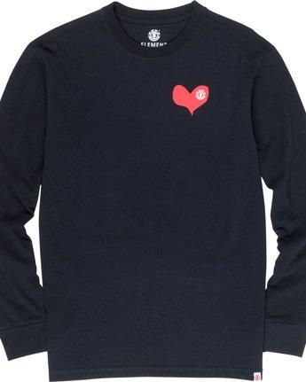 5 Barley - Long Sleeve T-Shirt Black Q1LSC6ELF9 Element