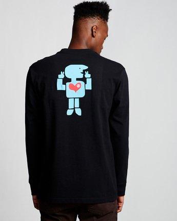 2 Barley - Long Sleeve T-Shirt Black Q1LSC6ELF9 Element