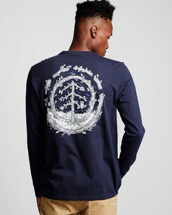 2 Too Late Logo - Longsleeve für Männer Blau Q1LSC9ELF9 Element
