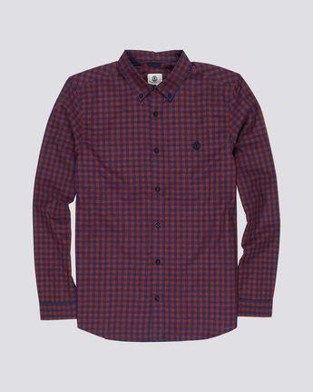 Icon Gingham - Long Sleeve Shirt  Q1SHA2ELF9