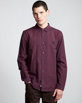 Icon Gingham - Long Sleeve Shirt  Q1SHA2ELF9