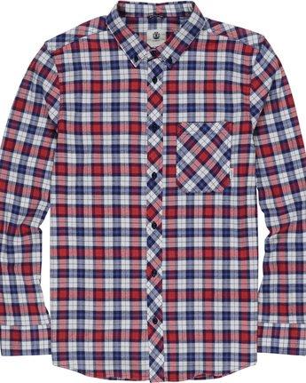 4 Lumber Classic - Long Sleeve Shirt Beige Q1SHA3ELF9 Element