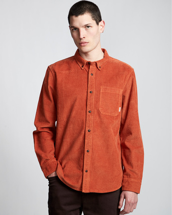 Lumber Cord - Long Sleeve Shirt  Q1SHA4ELF9