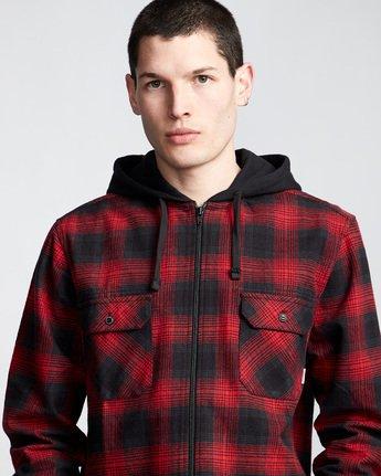 1 Wentworth Shadow - Chemise à capuche et manches longues pour Homme Rouge Q1SHA8ELF9 Element