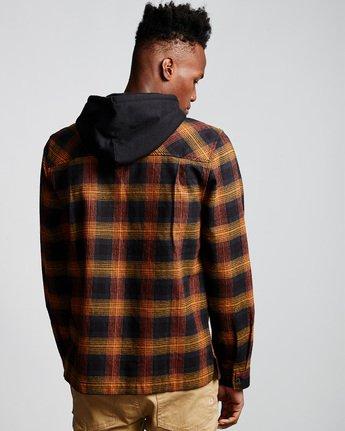 2 Wentworth Shadow - Hooded Long Sleeve Shirt  Q1SHA8ELF9 Element