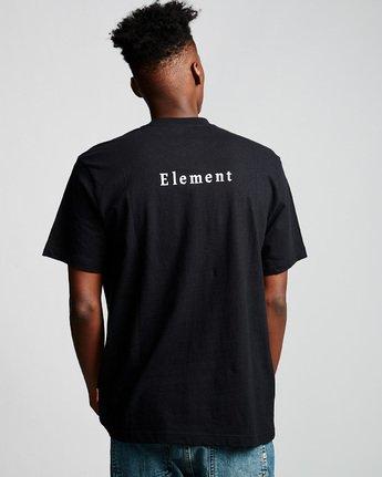 2 SD - T-Shirt Black Q1SSA3ELF9 Element