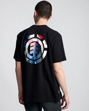 2 SD Icon - T-Shirt Black Q1SSA5ELF9 Element