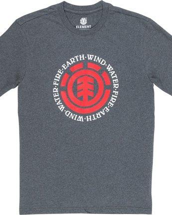 4 Seal - T-Shirt Grey Q1SSA8ELF9 Element