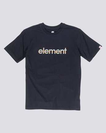 3 Eddie - T-Shirt Black Q1SSB7ELF9 Element