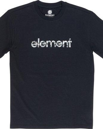 4 Verse - T-Shirt Black Q1SSB8ELF9 Element