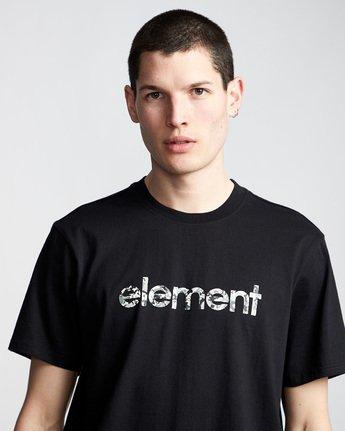 1 Verse - T-Shirt Black Q1SSB8ELF9 Element