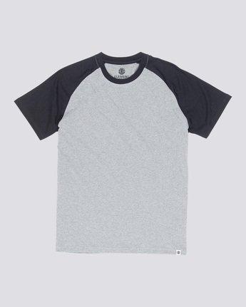3 Basic Raglan - T-Shirt Grey Q1SSC3ELF9 Element