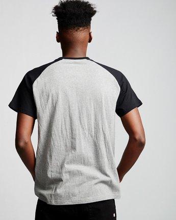 2 Basic Raglan - T-Shirt Grey Q1SSC3ELF9 Element