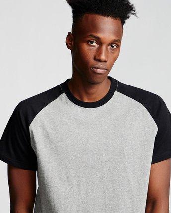 1 Basic Raglan - T-Shirt Grey Q1SSC3ELF9 Element