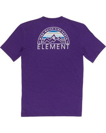 6 Odyssey - T-Shirt Purple Q1SSC8ELF9 Element