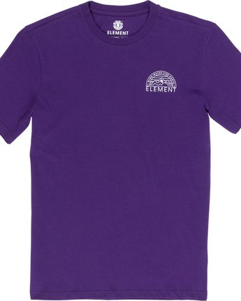5 Odyssey - T-Shirt Purple Q1SSC8ELF9 Element