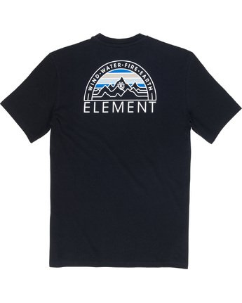 6 Odyssey - T-Shirt Black Q1SSC8ELF9 Element