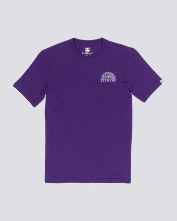 3 Odyssey - T-Shirt Purple Q1SSC8ELF9 Element