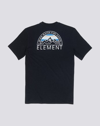 4 Odyssey - T-Shirt Black Q1SSC8ELF9 Element