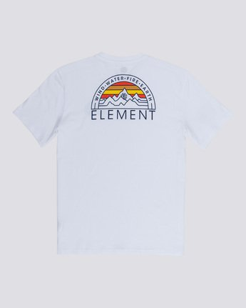 4 Odyssey - T-Shirt White Q1SSC8ELF9 Element