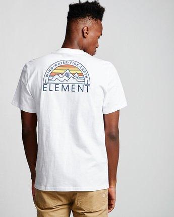 2 Odyssey - Maglietta da Uomo White Q1SSC8ELF9 Element