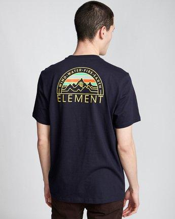 2 Odyssey - T-Shirt für Männer Blau Q1SSC8ELF9 Element