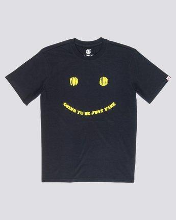3 Twilight - T-Shirt Black Q1SSD9ELF9 Element