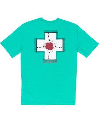 6 Burst - T-Shirt Green Q1SSE1ELF9 Element