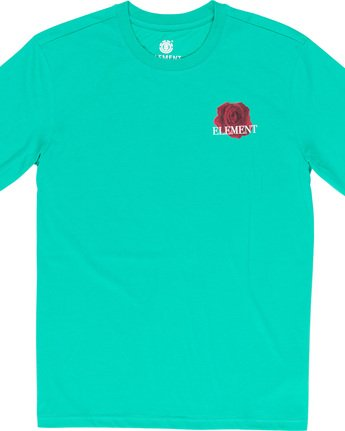 5 Burst - T-Shirt Green Q1SSE1ELF9 Element