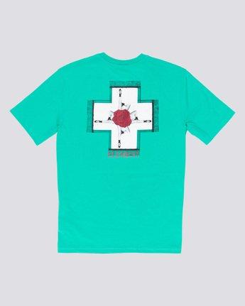 4 Burst - T-Shirt Green Q1SSE1ELF9 Element