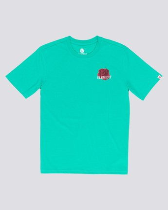 3 Burst - T-Shirt Green Q1SSE1ELF9 Element