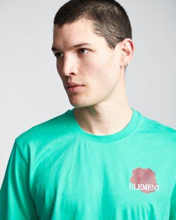 1 Burst - T-Shirt Green Q1SSE1ELF9 Element