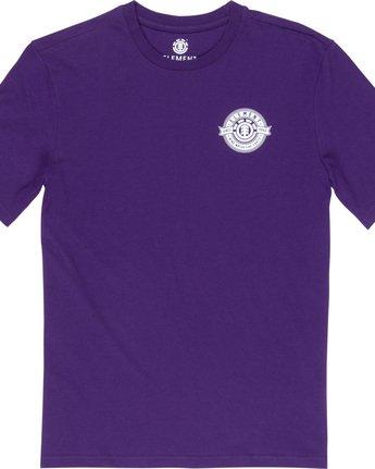 5 Medallian - T-Shirt Purple Q1SSE3ELF9 Element
