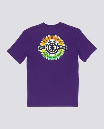 4 Medallian - T-Shirt Purple Q1SSE3ELF9 Element