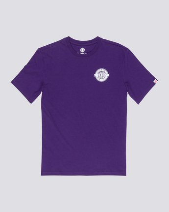 3 Medallian - T-Shirt Purple Q1SSE3ELF9 Element