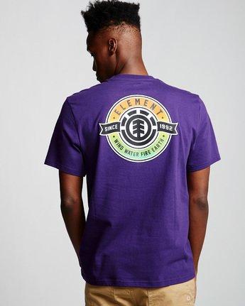 2 Medallian - T-Shirt Purple Q1SSE3ELF9 Element