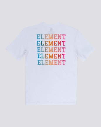 4 Drop - Maglietta da Uomo White Q1SSE4ELF9 Element