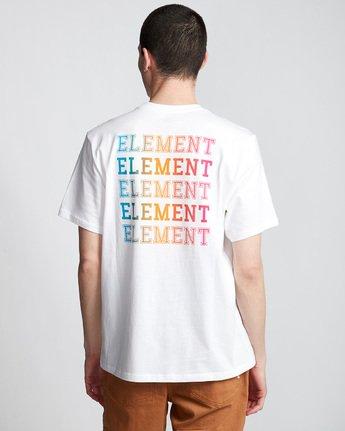 2 Drop - Maglietta da Uomo White Q1SSE4ELF9 Element