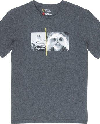 4 Hawk Smith - T-Shirt Grey Q1SSF4ELF9 Element