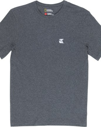5 Soar - T-Shirt Grey Q1SSF9ELF9 Element