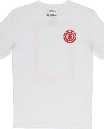 5 Unison - T-Shirt White Q1SSG1ELF9 Element