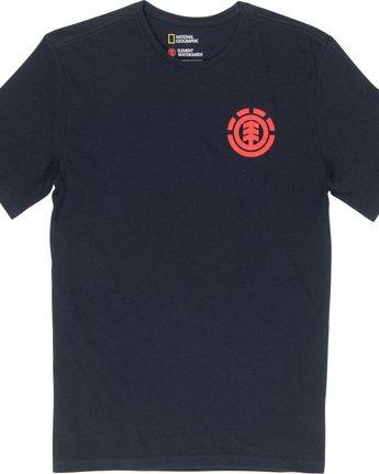 5 Unison - T-Shirt Black Q1SSG1ELF9 Element