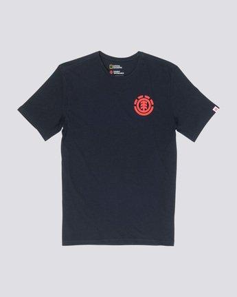 3 Unison - T-Shirt Black Q1SSG1ELF9 Element