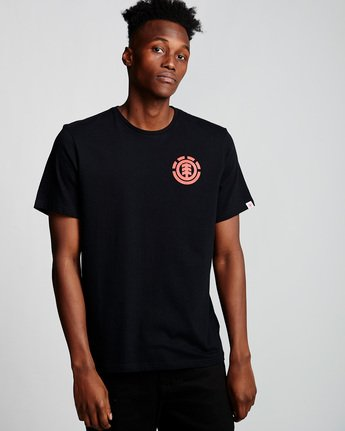 0 Unison - T-Shirt Black Q1SSG1ELF9 Element