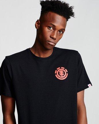 1 Unison - T-Shirt Black Q1SSG1ELF9 Element